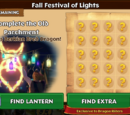 Fall Festival of Lights