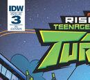Rise of the Teenage Mutant Ninja Turtles issue 3