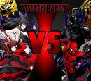 """Simbiothero/Team """"RWBY"""" vs Team RWBY"""
