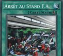 Arrêt au Stand F.A.