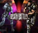 Solid Snake VS Chris Redfield