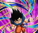 Fearless Saiyan Goku