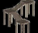 High Wooden Platforms (Lion Designs)