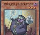 Démon Jinn, Juge des Rituels