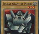 Soldat Géant de Pierre