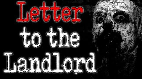 """""""Letter to the Landlord"""" CreepyPasta Storytime"""