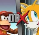 """Miles """"Tails"""" Prower vs Diddy Kong"""