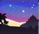 Фон «Арабская ночь»