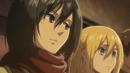 Mikasa tells Historia to punch Levi.png