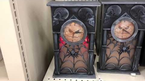 Haunted Grandfather Clock