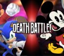 Mario and Sonic vs Mickey and Bugs