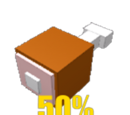 50% Less Hunger/Thirst Deduction Gamepass