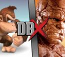Donkey Kong vs The Thing