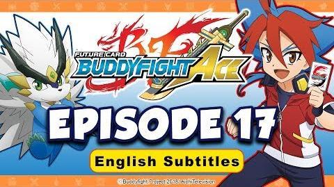Sub Episode 17 Future Card Buddyfight Ace Animation