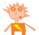 Pomarańczowa skalpolit
