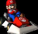 Mario Kart DS racers