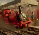 Vier kleine Lokomotiven