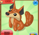 Exclusive Coyote Plushie