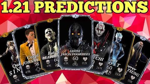 1.21 PREDICTIONS for MKX Mobile!