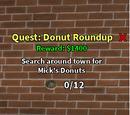 Quest: Doughnut Roundup!