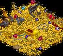 Burns Dragon's Pile of Treasure