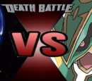 Metal Sonic vs Rayquaza