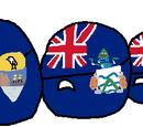 Saint Helenaball, Ascensionball and Tristan da Cunhaball
