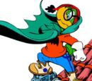 Green Bat's Initial Story characters