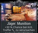 Jäger: Munition