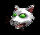 Scary Cat Head