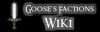 Goose's Minecraft Server Wiki