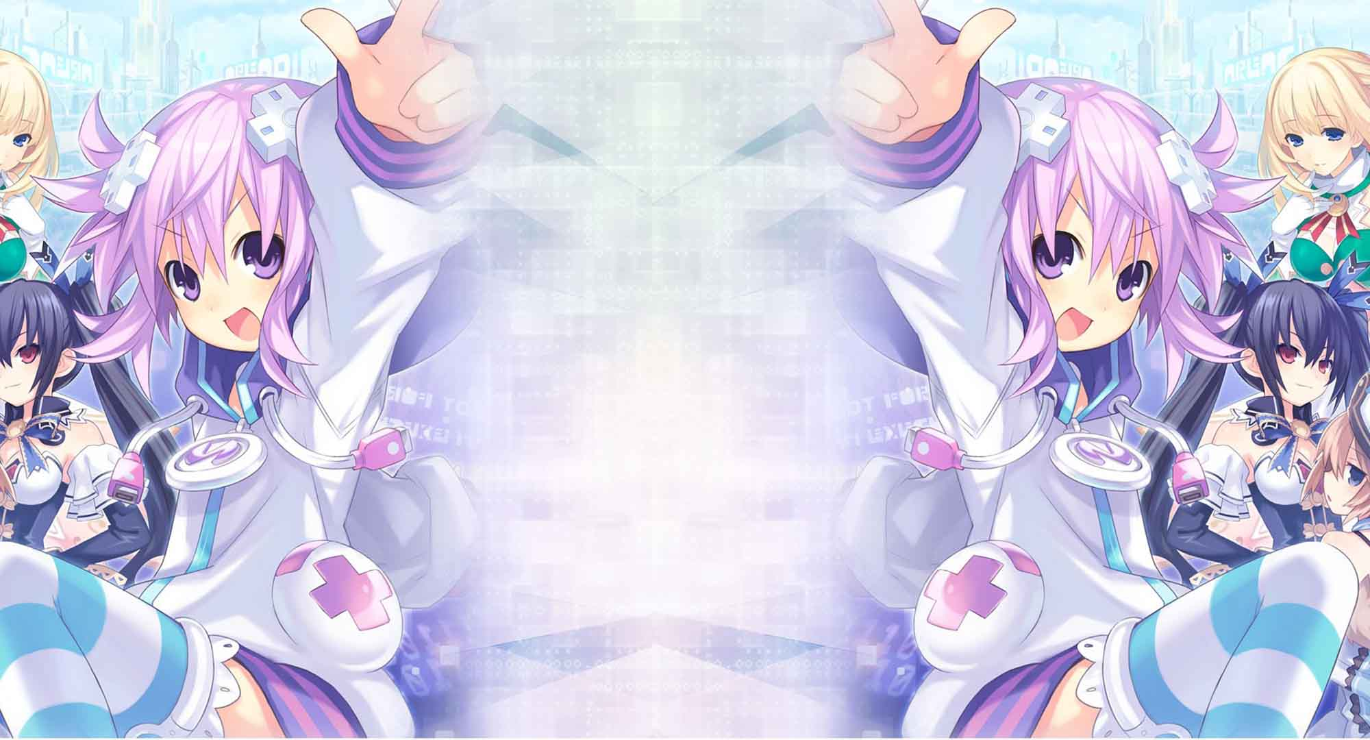 hyperdimension neptunia nepgear tastes a big