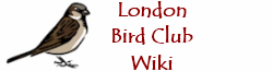 London Bird Club Wiki