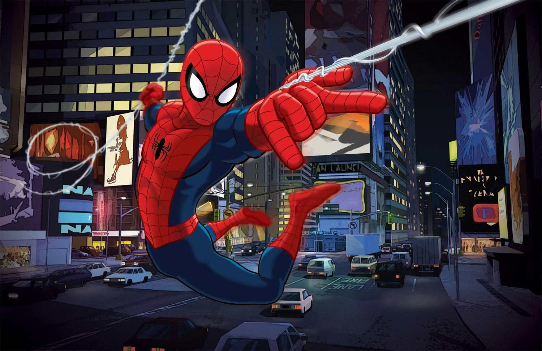 iron spider ultimate spider man animated series wiki fandom