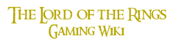 Lord of the Rings Gaming Wiki