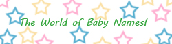 World of Baby Names Wiki