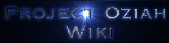 Project Oziah Wiki
