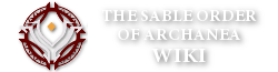The Sable Order of Archanea Wiki